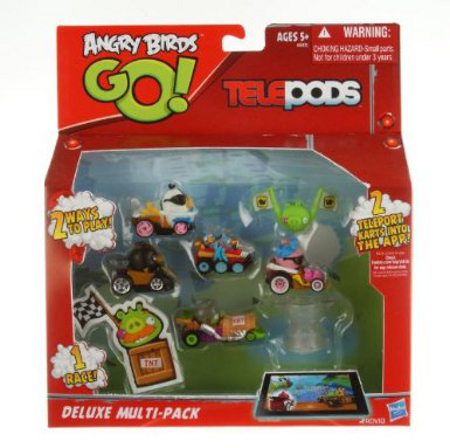 Angry Birds Go Mega Mayhem Pack - toy guide