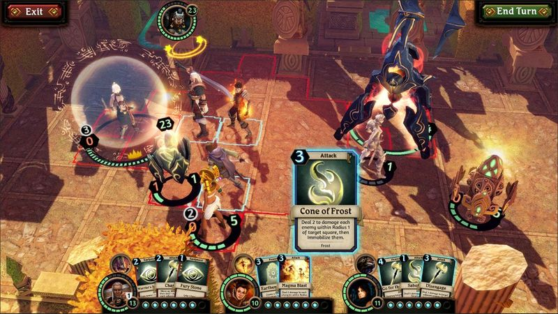 Labyrinth is what happens when a dungeon crawler meets a trading card game