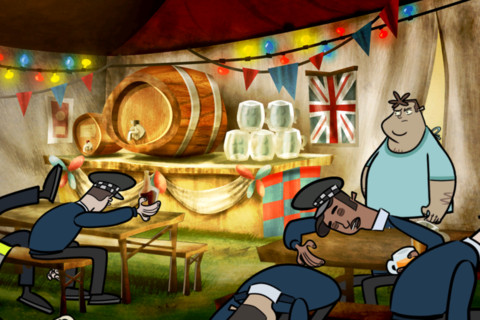 Hector: Ep3 - Beyond Reasonable Doom boozing it up in New Zealand, hitting worldwide App Stores tonight