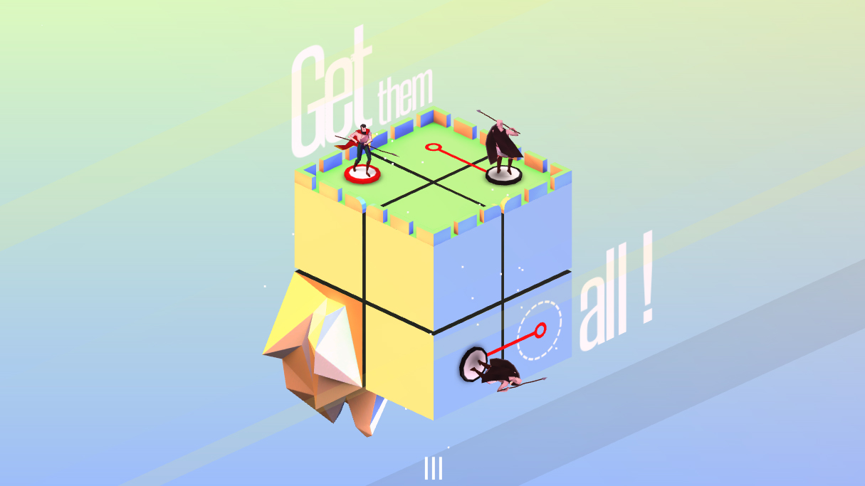 Euclidean Lands' striking isometric levels continue to impress