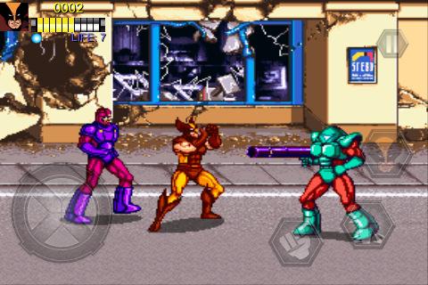 Remake of classic X-Men arcade game battles onto New Zealand App Store