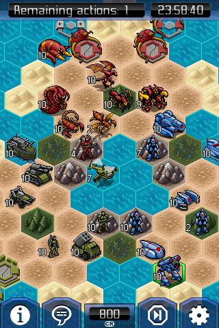 UniWar: Advance Wars meets StarCraft on the iPhone