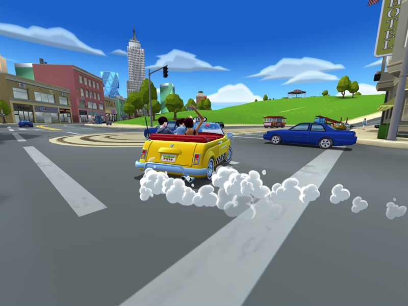 Crazy Taxi: City Rush is now making sensible amounts of money on Android
