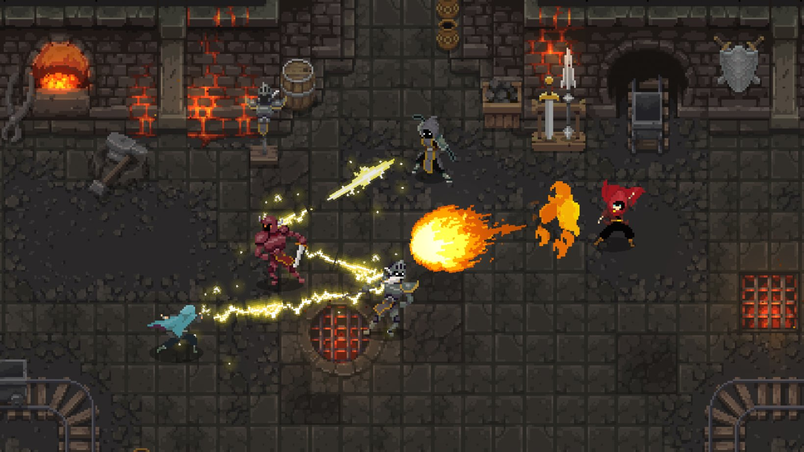 Wield the elements in fast-paced magical combat when Wizard of Legend releases on Switch in 2018