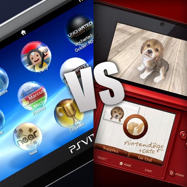 PlayStation Vita vs Nintendo 3DS
