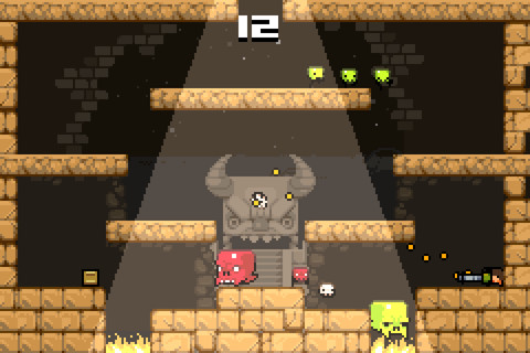 iPhone and iPad platformer Super Crate Box updated with new characters, tweaked controls, and more