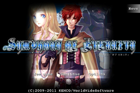 Silver Award-winning JRPG Symphony of Eternity reduced to 69p/99c on the App Store for a limited time