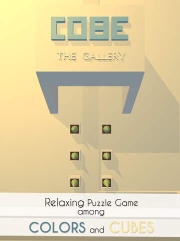 Our second place winner at the Apps World BIP is elegant puzzler Cobe The Gallery