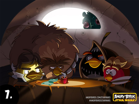 Behind the scenes with Angry Birds Star Wars