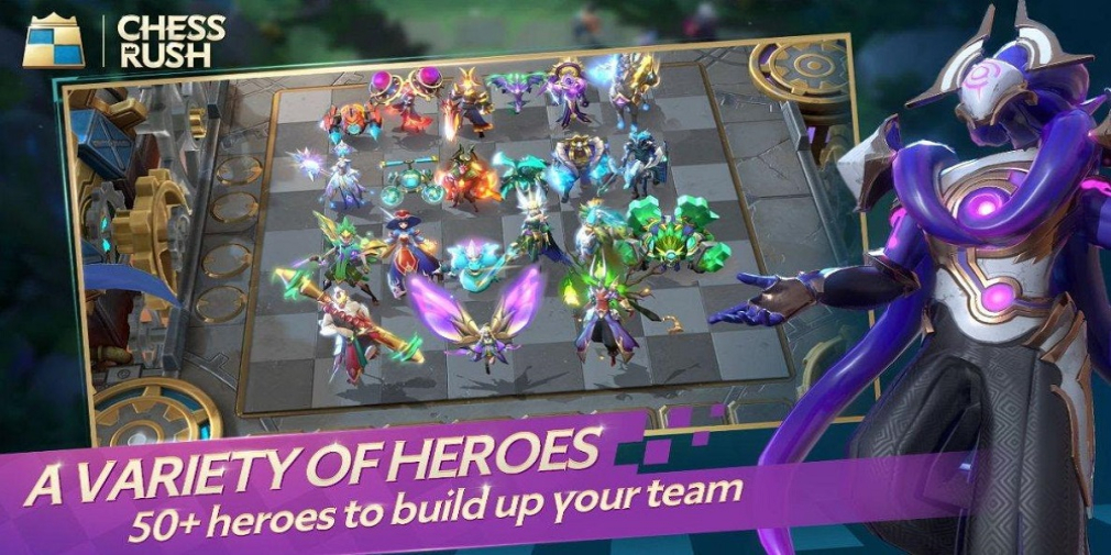 Chess Rush, Tencent's take on Auto Chess, launches tomorrow for iOS and Android