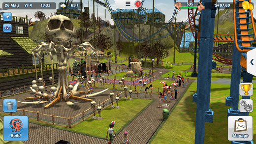 RollerCoaster Tycoon 3 (the good one) gets its first price drop on iOS |  Articles | Pocket Gamer