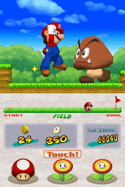 New moves for Super Mario Bros