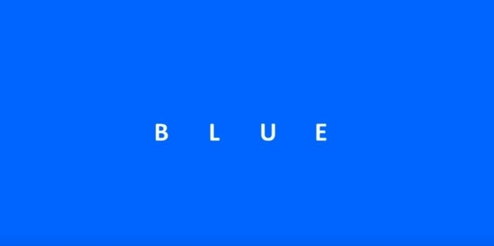 Bart Bonte's colour puzzle series continues with Blue, out now on iOS and Android