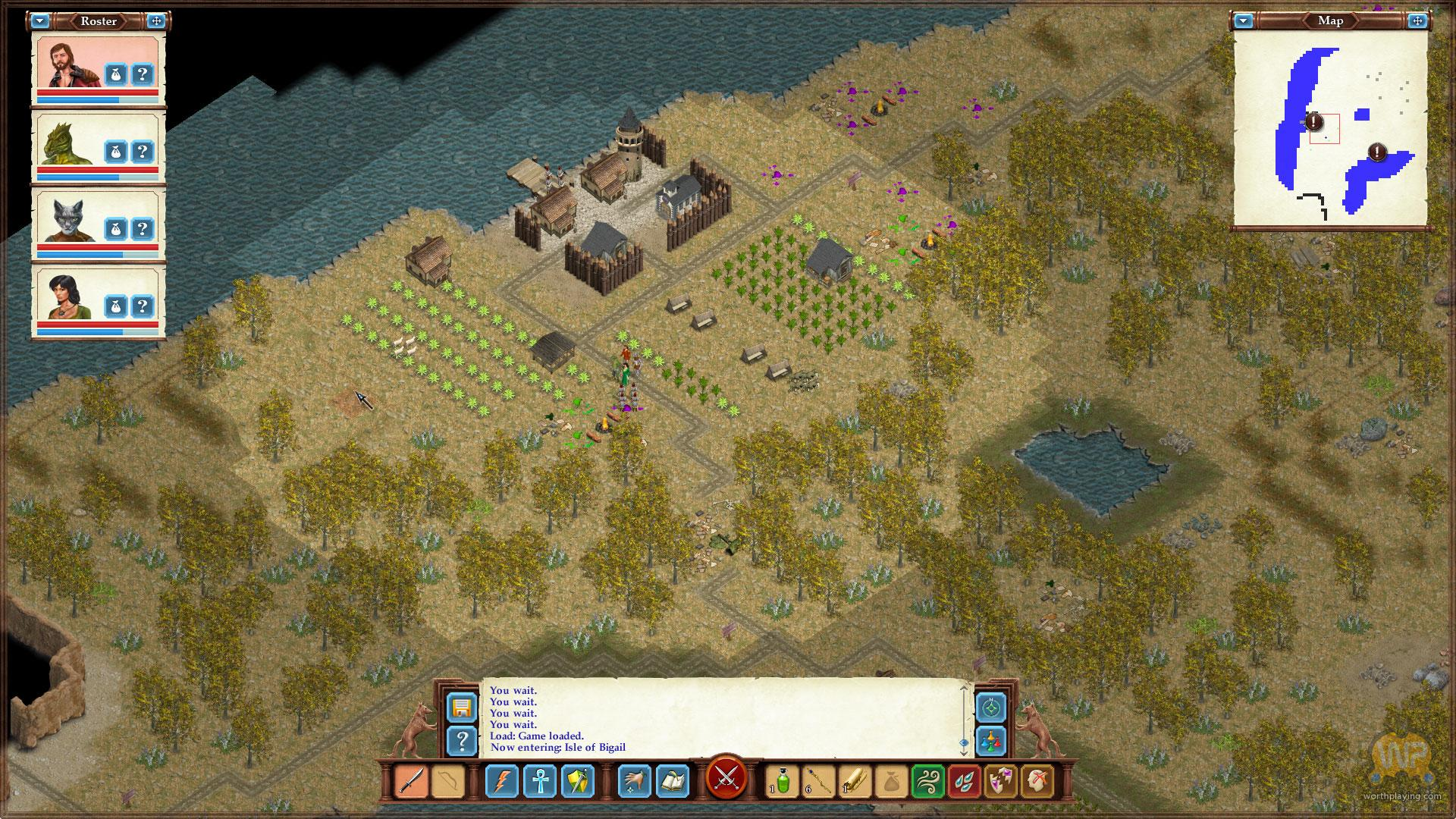 Avernum 3: Ruined World will leave the underworld behind when it comes to iPad in 2018