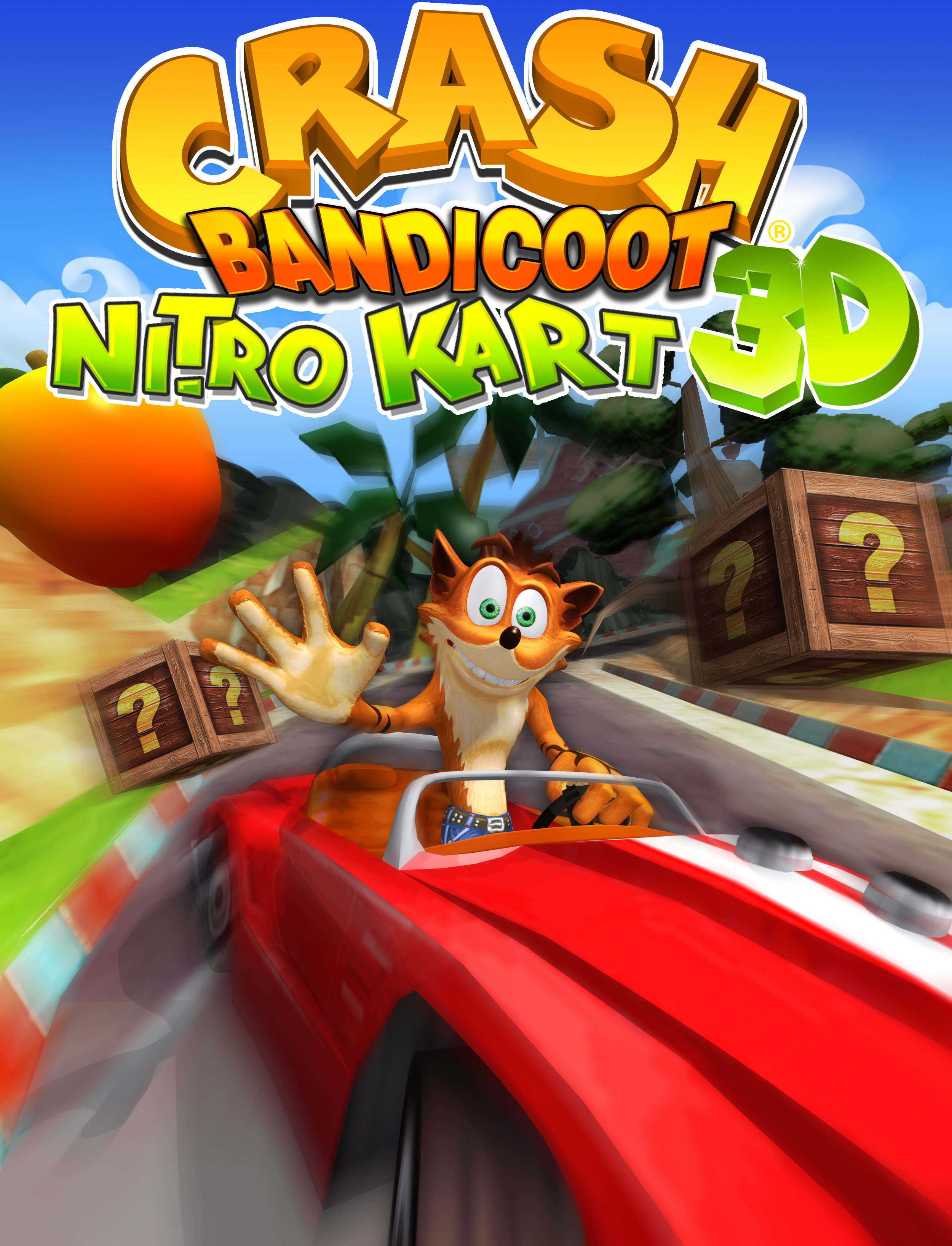 crash bandicoot nitro kart 3d image 5 of 5 crash bandicoot nitro