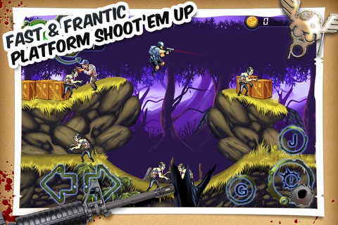 Side-scrolling zombie shooter Apocalypse Max now blasting brains on the App Store