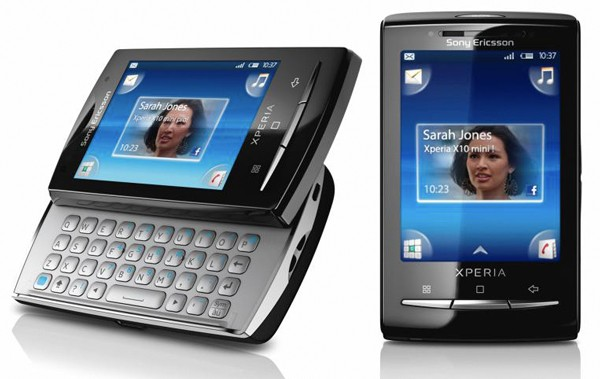 Sony Ericsson X10 Mini and Mini Pro set for UK on April 13th?