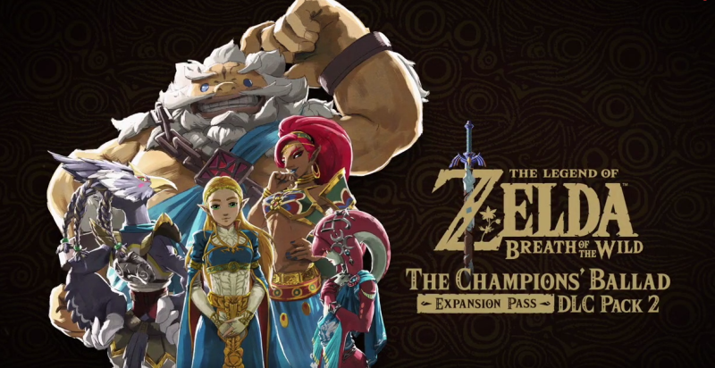 The Legend of Zelda: Breath of the Wild DLC Pack 2 is available right now