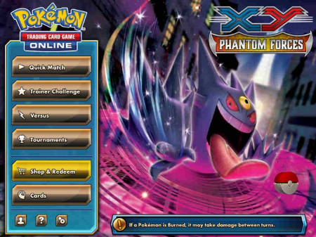 Pokémon TCG Online has been updated with the XY - Phantom Forces expansion on iPad