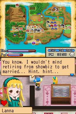 Harvest Moon: Island of Happiness DS to celebrate its