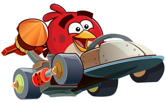 Angry Birds Go! is out right now for iOS, Android, BlackBerry 10, and Windows Phone