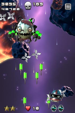 Pretty laser hell promised in iPhone shmup Super Blast 2