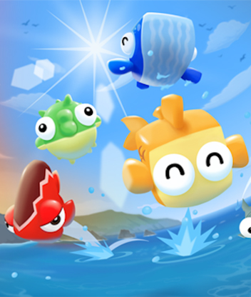 Halfbrick adds a new 'Pro' scoring system and some magic hats to Fish Out of Water!