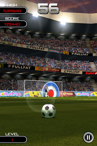 iPhone kick-'em-up Flick Soccer! now scoring goals on the Android Market