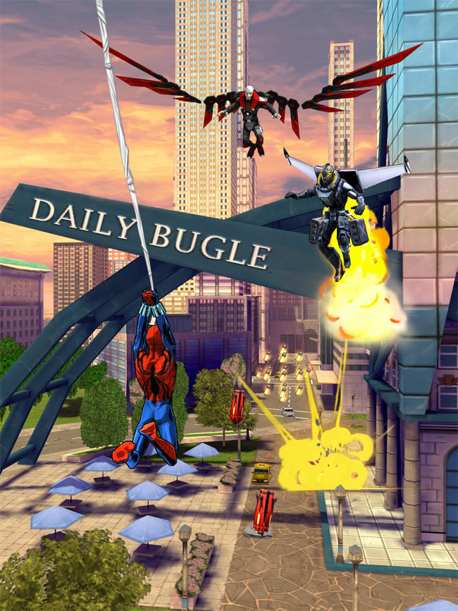 Spider-Man Unlimited is a comic-book endless swinger that's set to hit iOS and Android later in the year