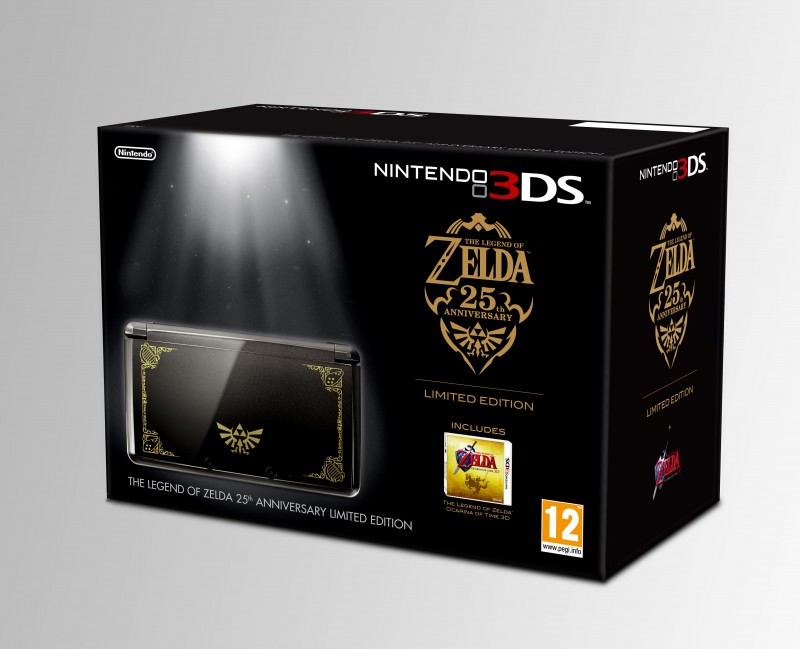 Nintendo to release limited edition The Legend of Zelda 3DS bundle to mark 25th anniversary of the original game