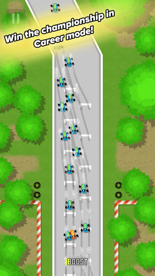 Drift'n'Drive funnels racing into a loop of bustling car bumping and engine upgrades