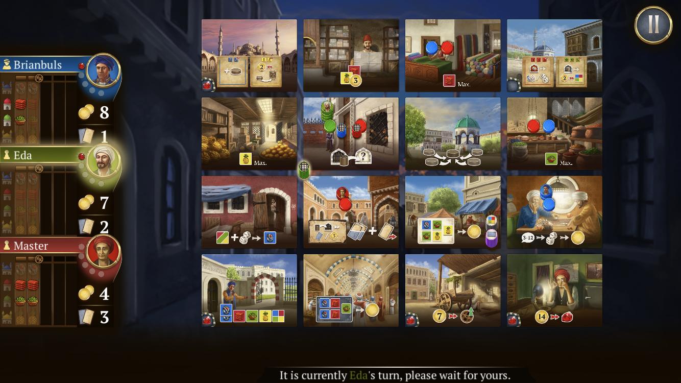 Pocket Gamer's best games of June giveaway - Istanbul: Digital Edition