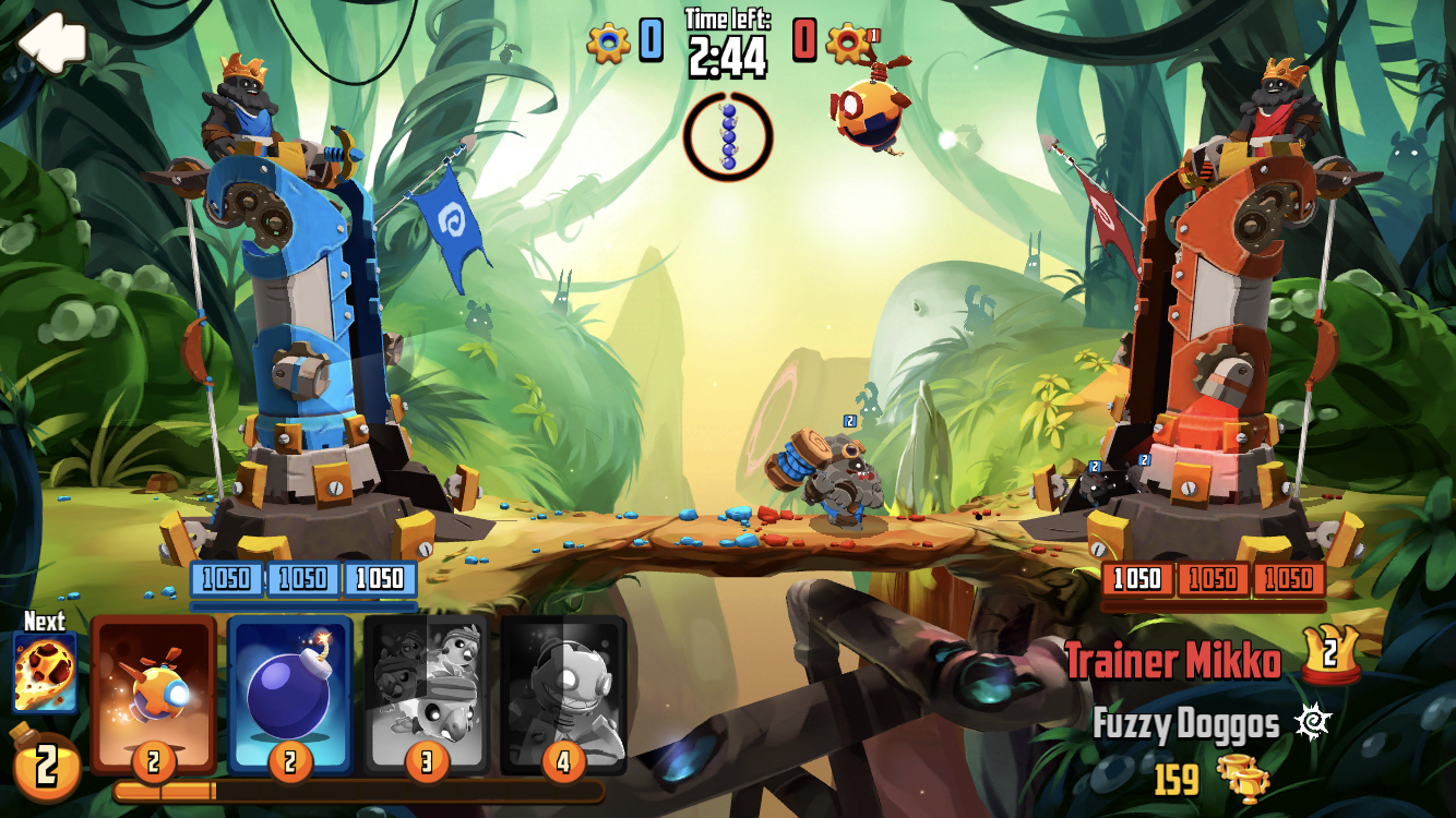 """Badland Brawl review - """"Clash Royale and Angry Birds walk into a bar..."""""""