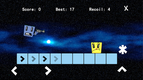 Bang Man! is a fiendishly good arcade shooter that's out right now for Android