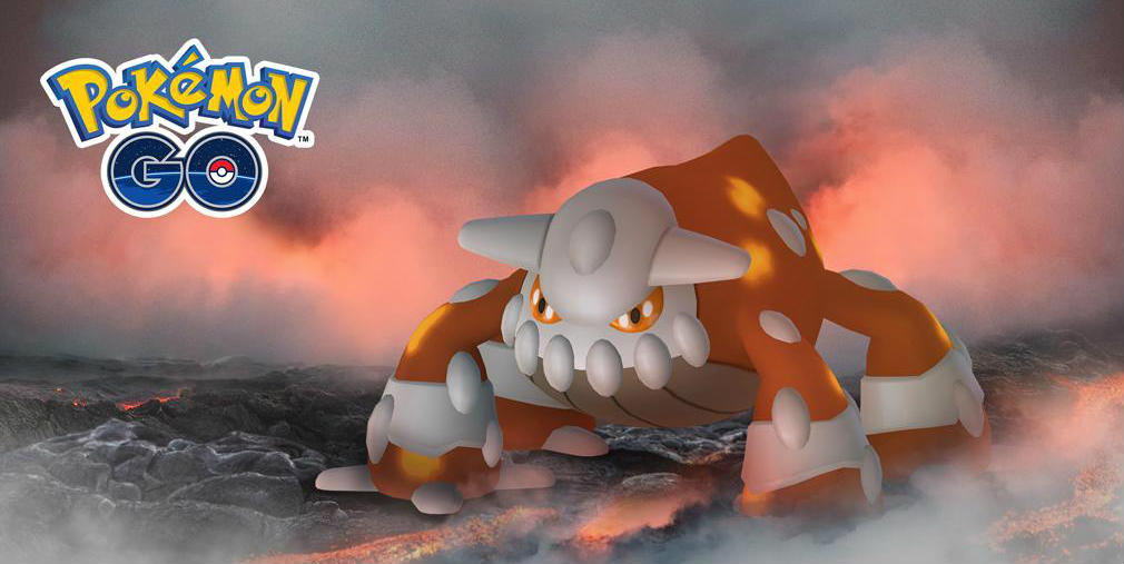 Pokemon Go will see Heatran return to Raids soon and more Gift Stickers to buy in the shop