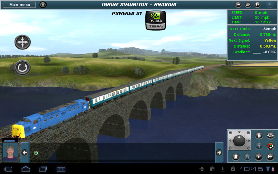 Trainz Simulator pulls into the Android station