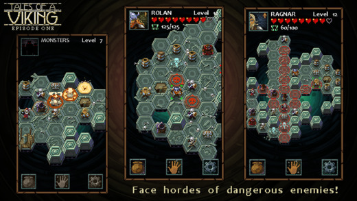 Tales of a Viking is a small-scale strategy-RPG you can play in short bursts, out now