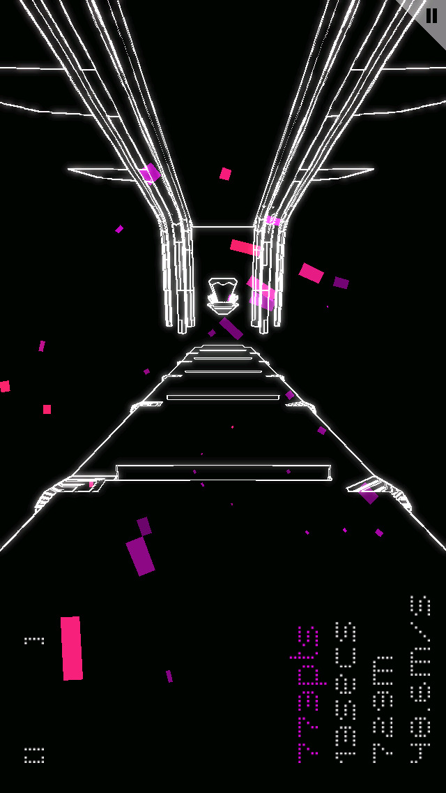 Exhilarating wire-frame runner FOTONICA springs on to Android today