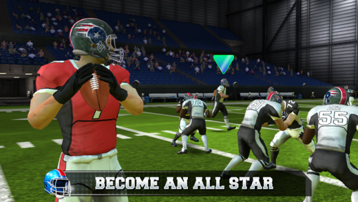 Out at midnight: All Star Quarterback has you managing a football career from amateur to pro