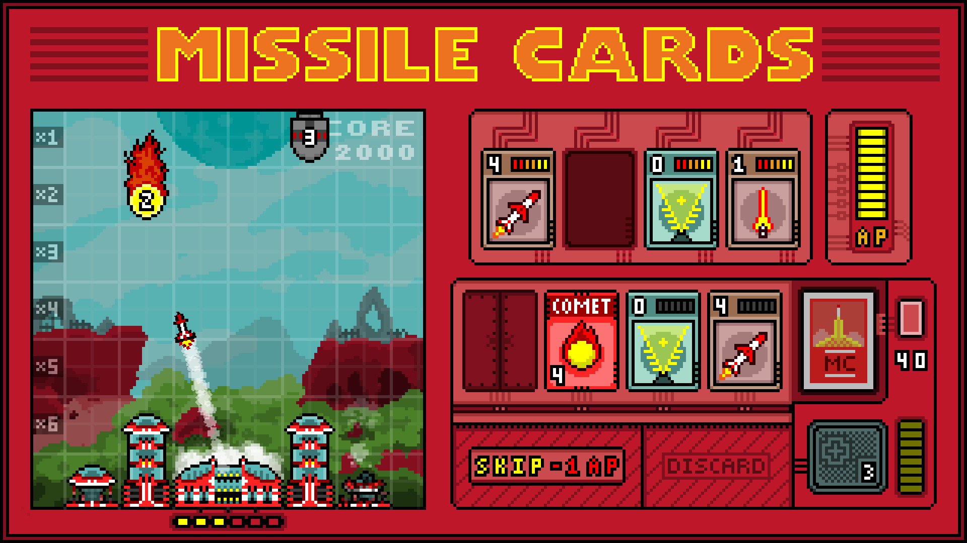 Missile Cards will combine missile defense and Solitaire when it arrives on iOS this year