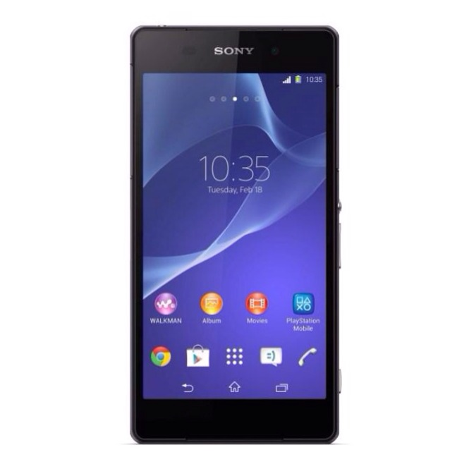 MWC 2014: Waterproof Sony Xperia Z2 smartphone shoots video in 4K