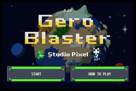 PG First Play: Hands-on with Kero Blaster - Pixel's amphibious action game for iPhone