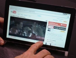 Public flashing: Android tablet prototypes support Flash