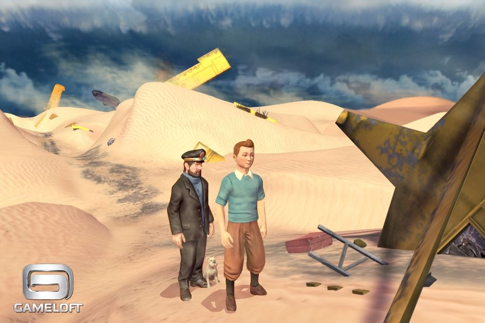 Gameloft's gorgeous stealth-puzzler The Adventures of Tintin: Secret of the Unicorn - The Game goes live for iPhone and iPad