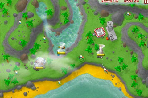 Heli Rescue update has two new maps and blackwolf chopper