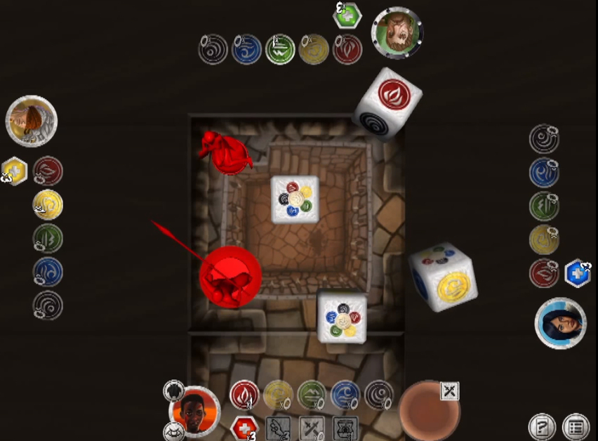 Dungeon crawling board game Fallen Lords is out now, 50% off, for Android and iPad
