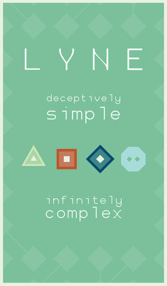 Learn how to reach a state of Zen in soothing yet challenging minimalist puzzler LYNE