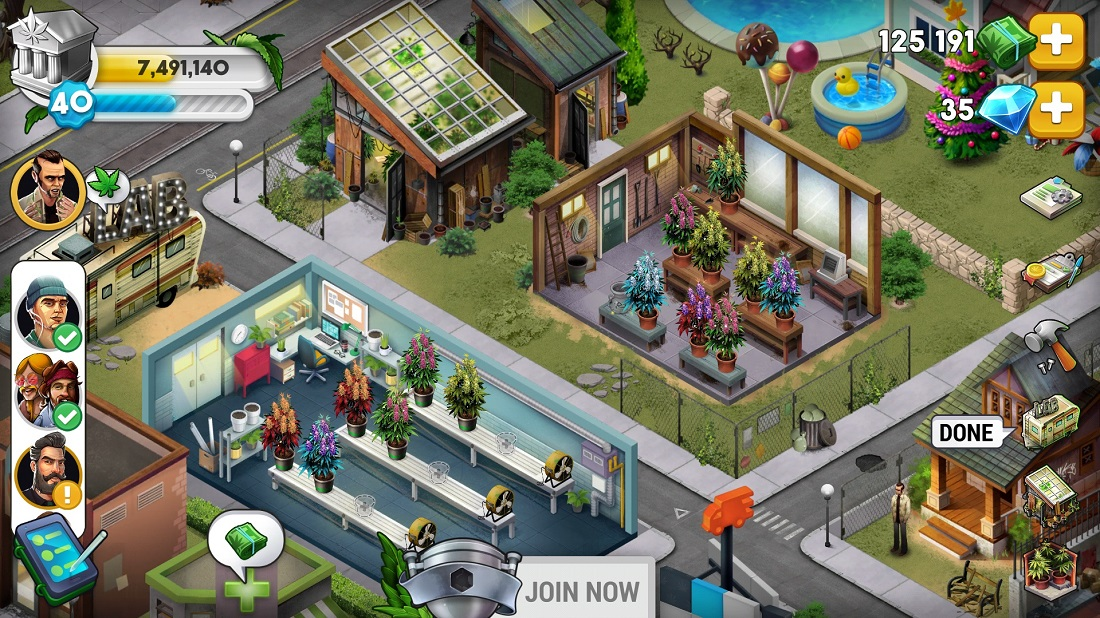 A behind the scenes look at Hempire – the weed farming simulator for all 4/20 fans