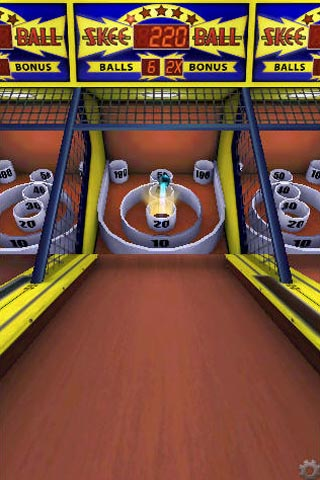 Skee-Ball rolls and tilts onto App Store