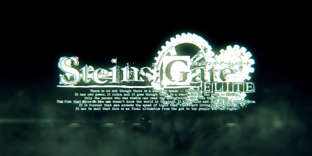 "Steins;Gate Elite Switch review - ""The same game, but prettier"""